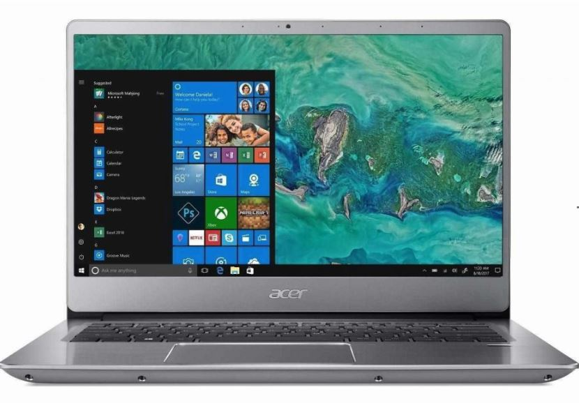 Acer Swift 3 and Aspire 5 powered by Intel Whiskey Lake-U