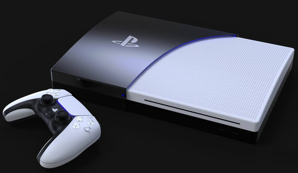Mediamarkt Trolls Ps5 Price And Console Design Leak Attempt And Two Tone Fan Made Playstation 5 Concept Renders Elicit Memories Of The Ps3 Notebookcheck Net News