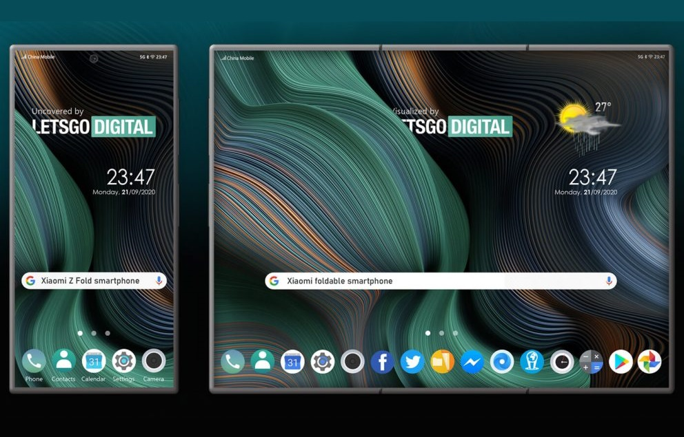 The Xiaomi concept looks enticing in tablet mode, but it comes with inherent problems. (Image source: LetsGoDigital)
