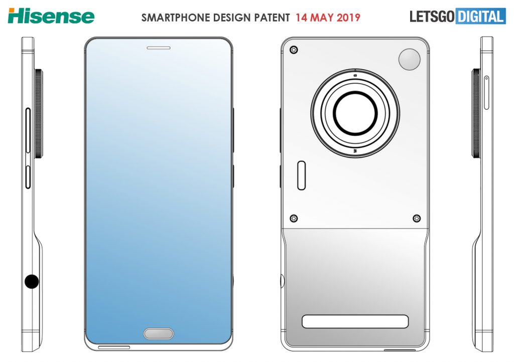 Hisense allegedly patents a true camera/phone hybrid