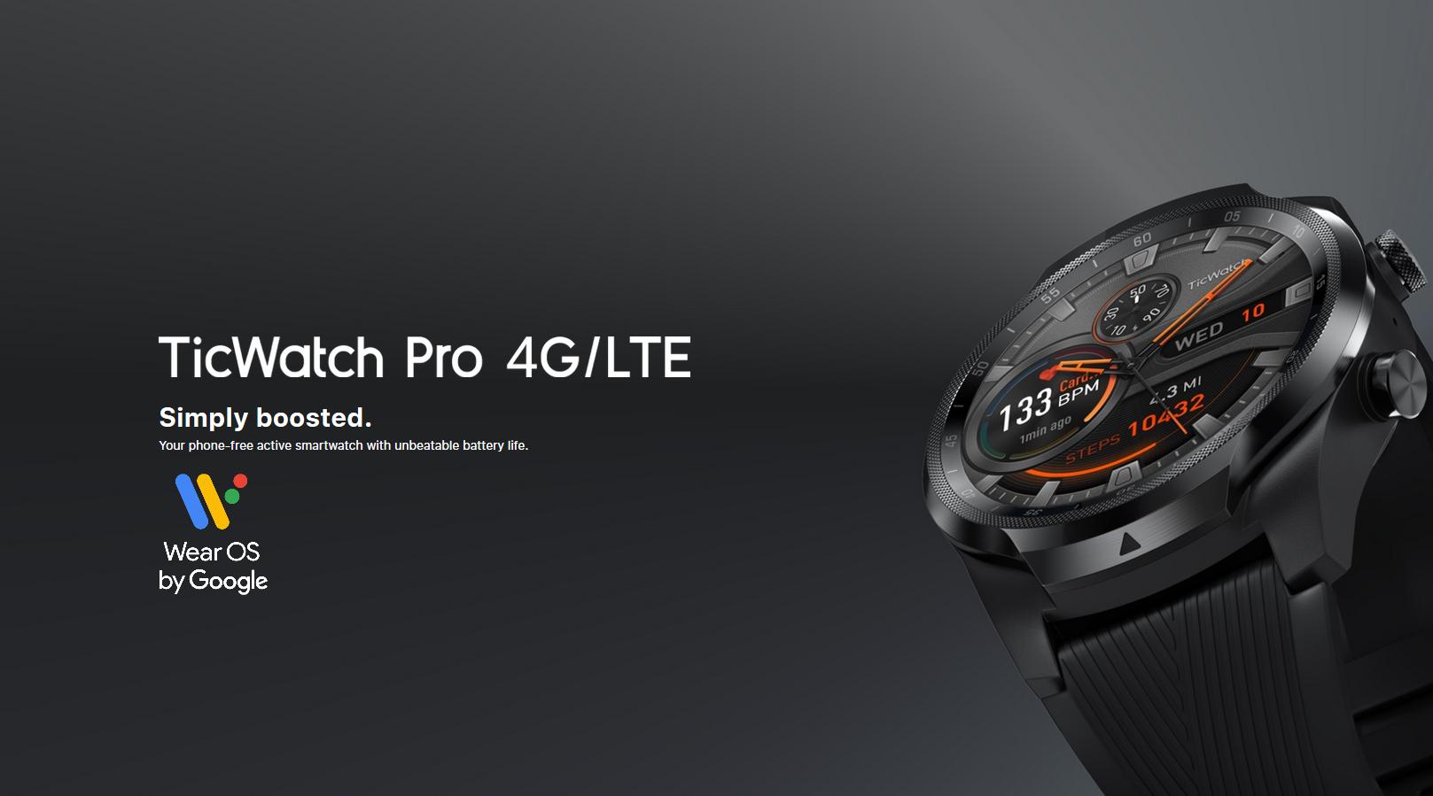 TicWatch Pro 4G/LTE - Test & Avis - Mon GPS Avis.fr