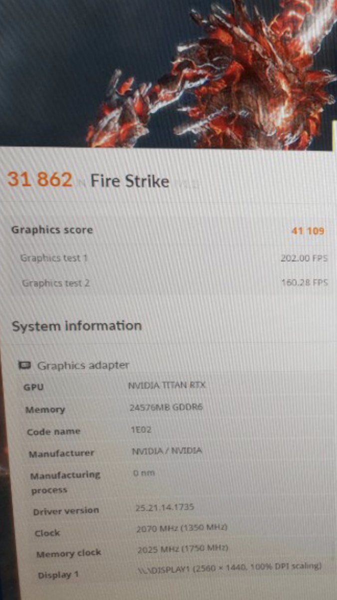The results of Titan RTX overclocking and testing have