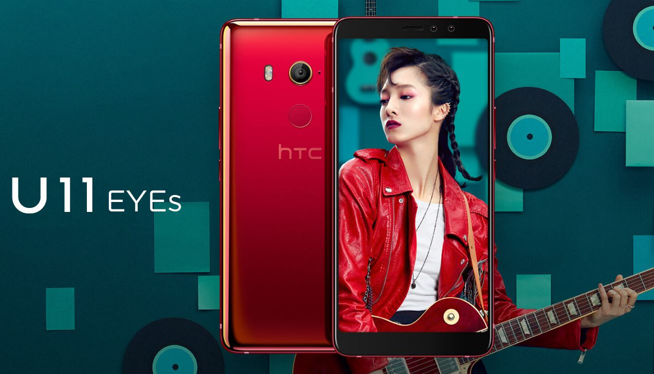 HTC U11 EYEs with dual selfie cameras launched: Price, specifications, features