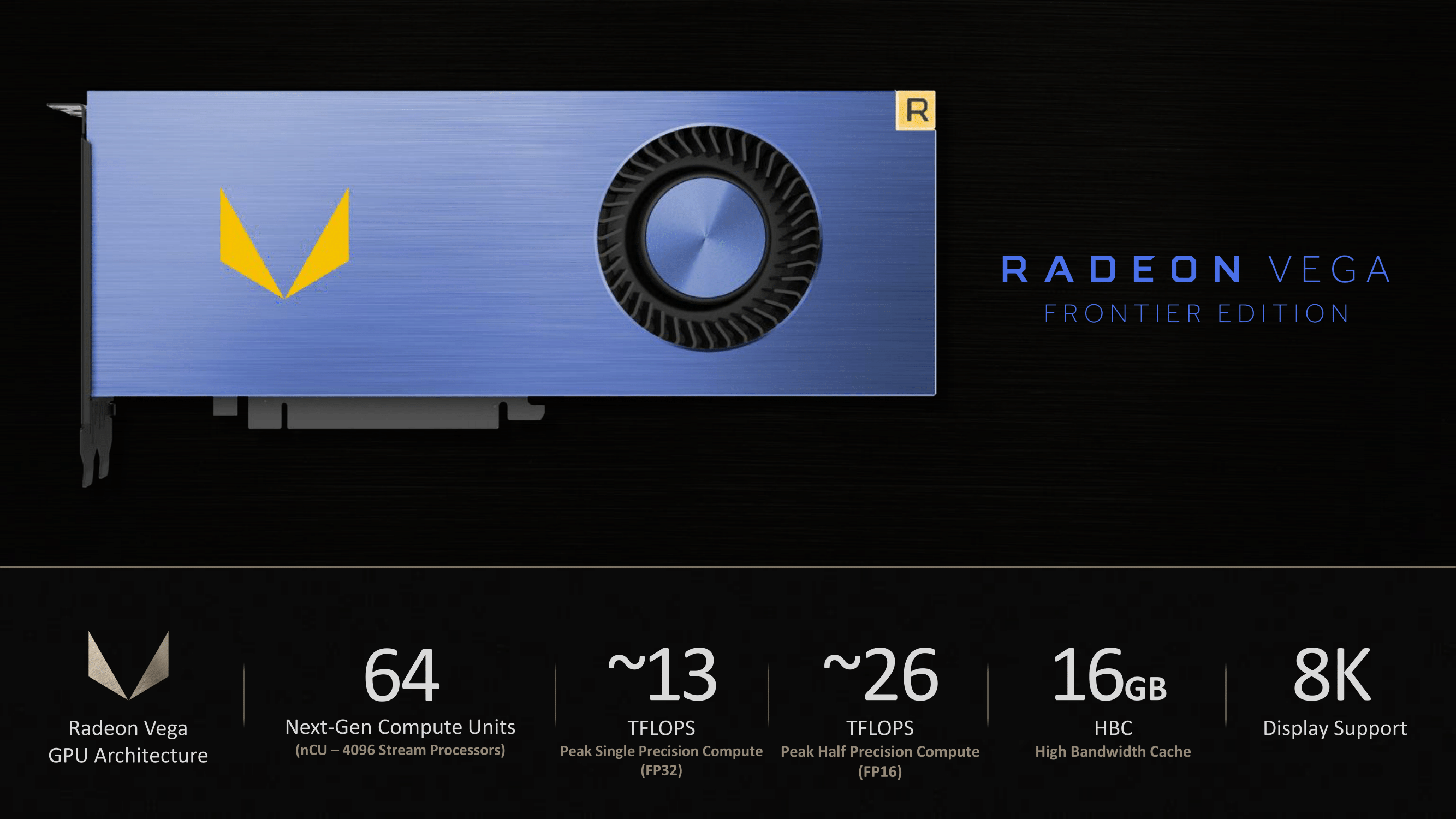 The Amd Vega Fe Is A Prosumer Powerhouse That Falls Short Of Gaming