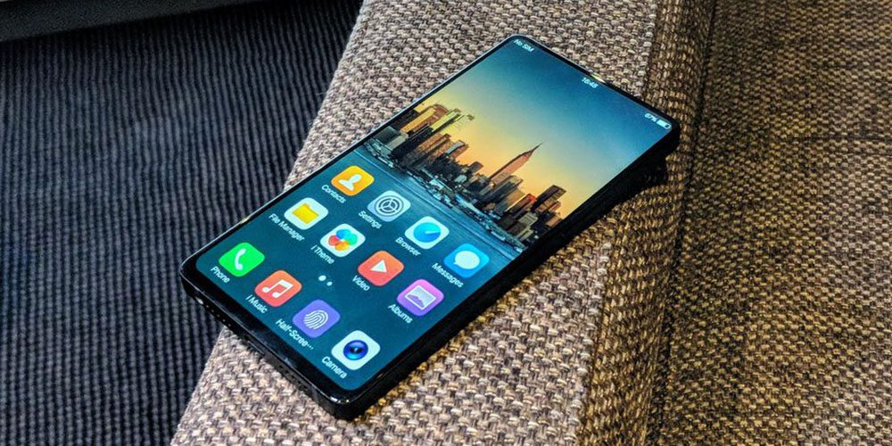 Vivo NEX announced with pop-up camera and in-display fingerprint sensor