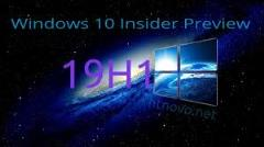 Windows 10 19H1 is currently available as an insider's preview. (Source: Windows Latest)