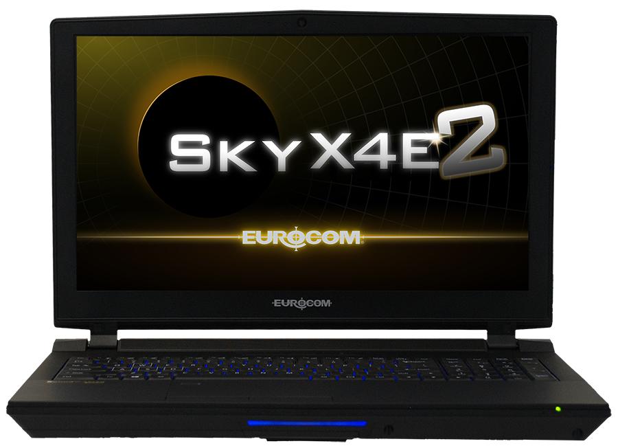 eurocom sky x4e2 notebook with lga 1151 socket now available news. Black Bedroom Furniture Sets. Home Design Ideas