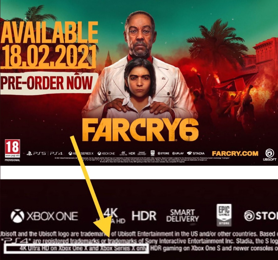 Far Cry 6 To Run At 4k Hdr Only On The Xbox Series X Playstation