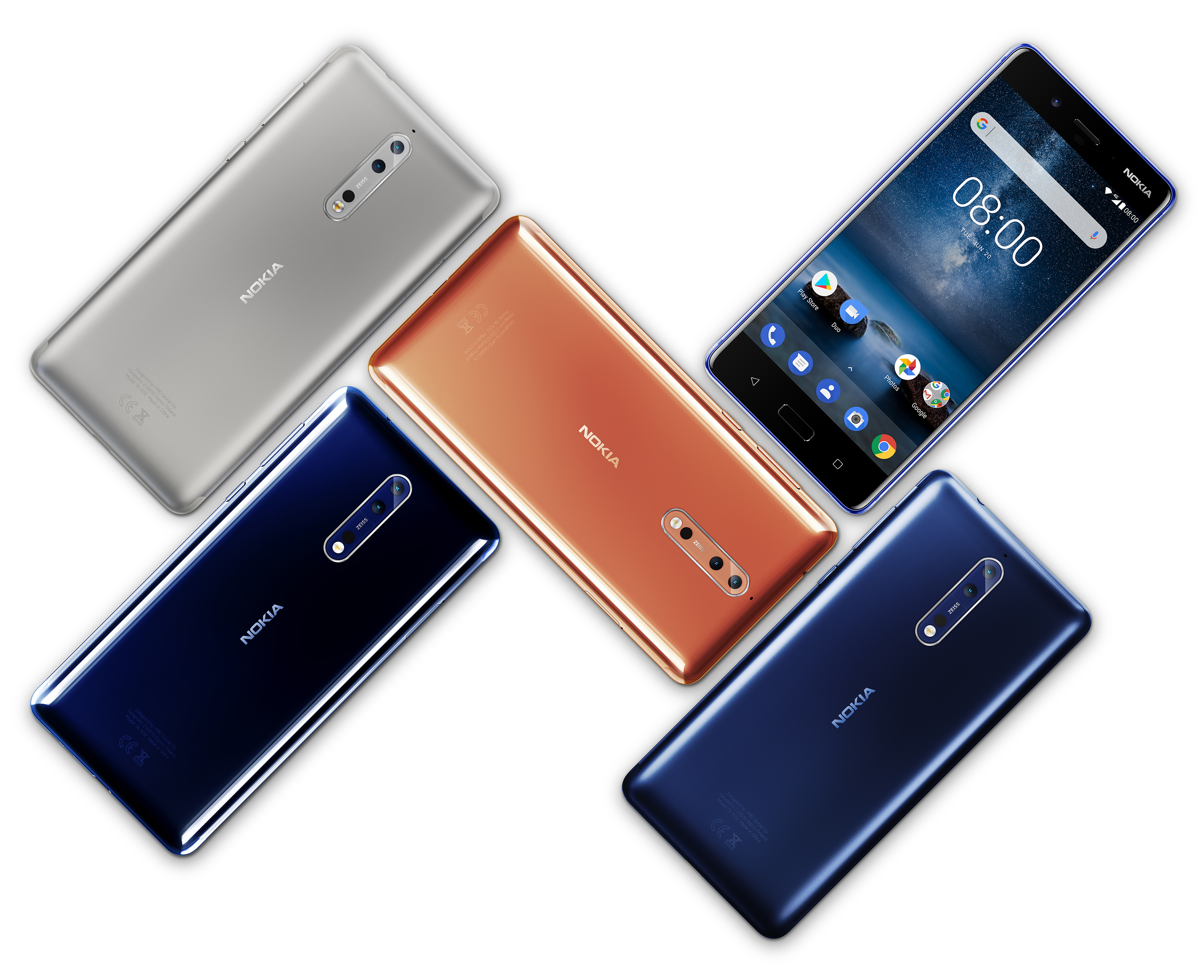 Image result for nokia 8 sirocco colors