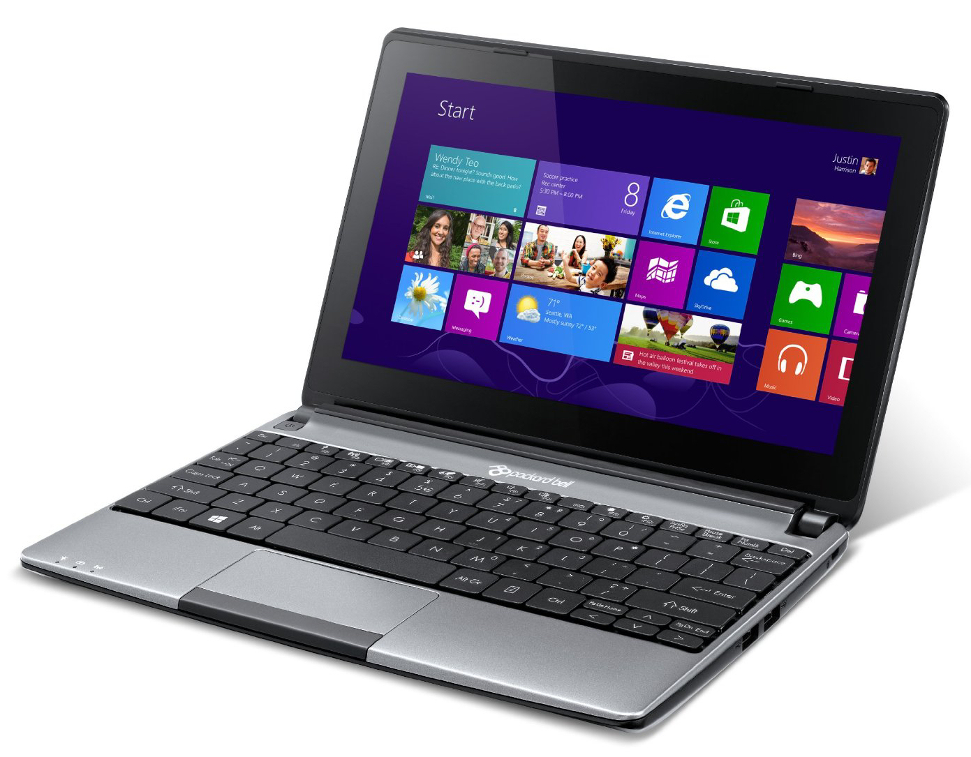 Review Packard Bell EasyNote MEBMP Netbook