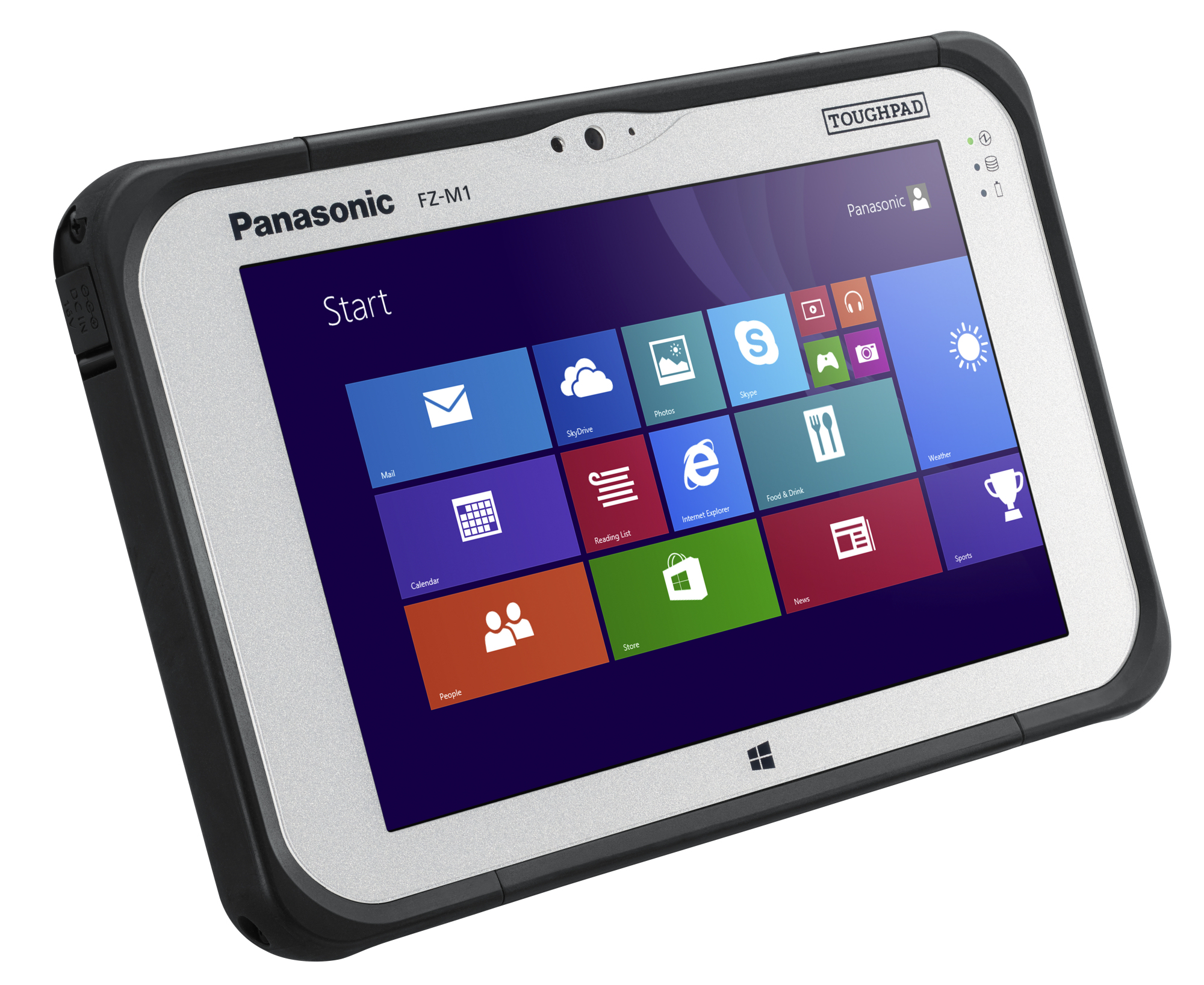 Panasonic Toughpad Fz M1 Tablet Review Notebookcheck Net