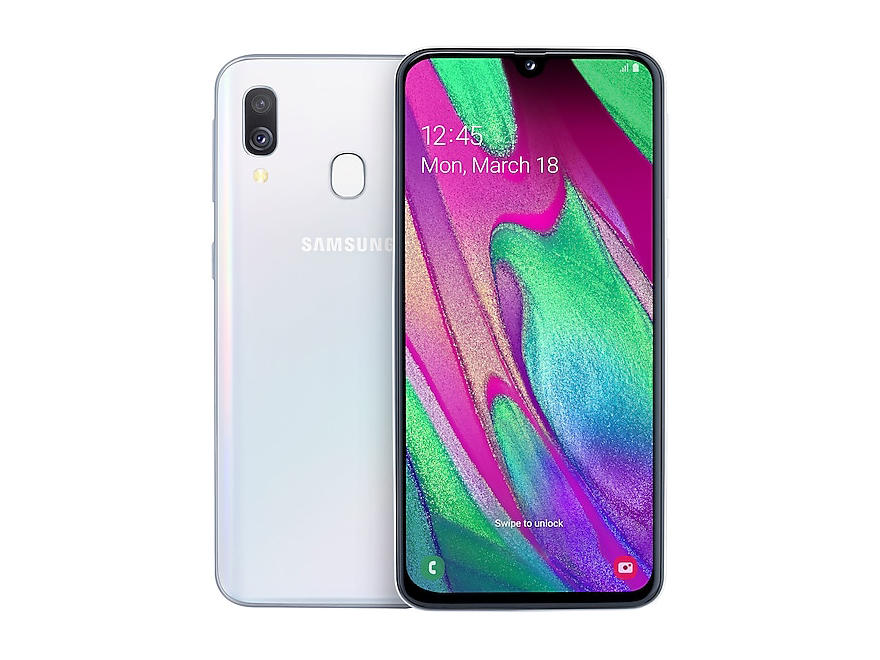 Samsung Galaxy A40 Smartphone Review - NotebookCheck net Reviews