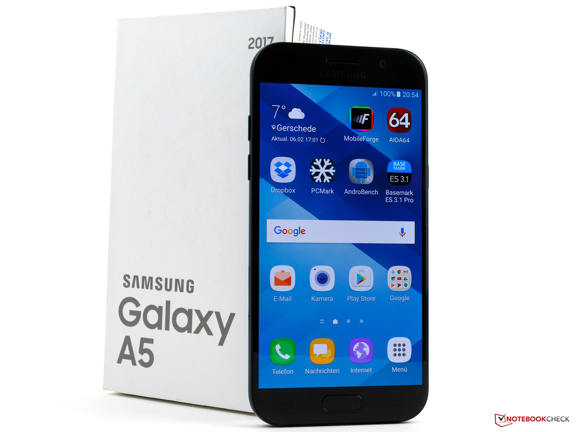 Fresh Colors Samsung Galaxy A5 2017 Smartphone Review Notebookcheck