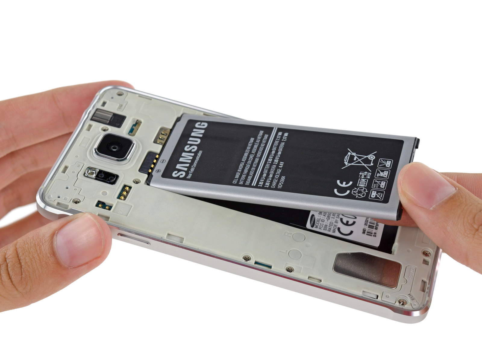 Samsung Galaxy Alpha Sm G850f Smartphone Review G850 Color Options Source Ifixit