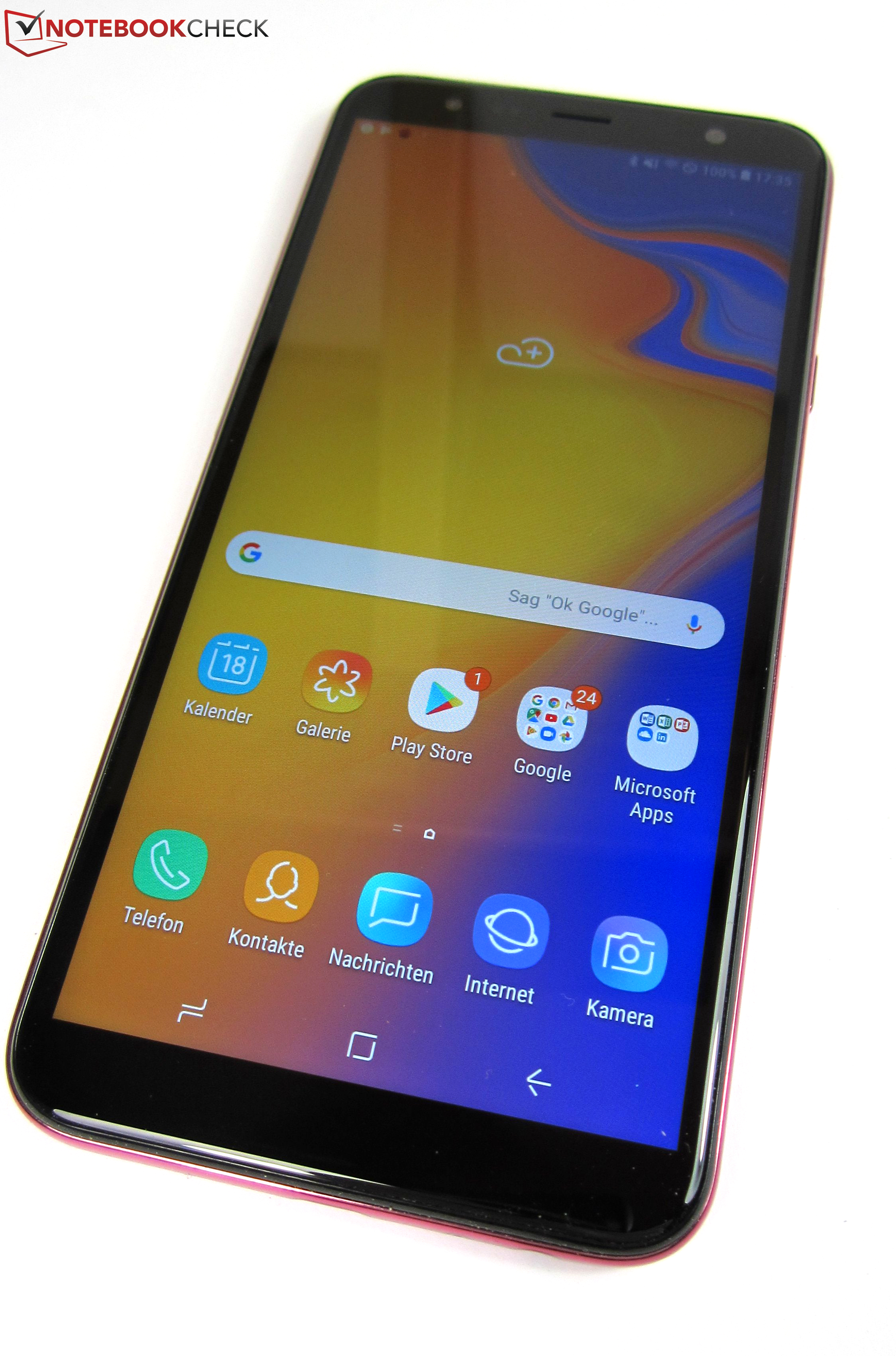 Samsung Galaxy J4 Plus 2018 Smartphone Review Notebookcheck Net