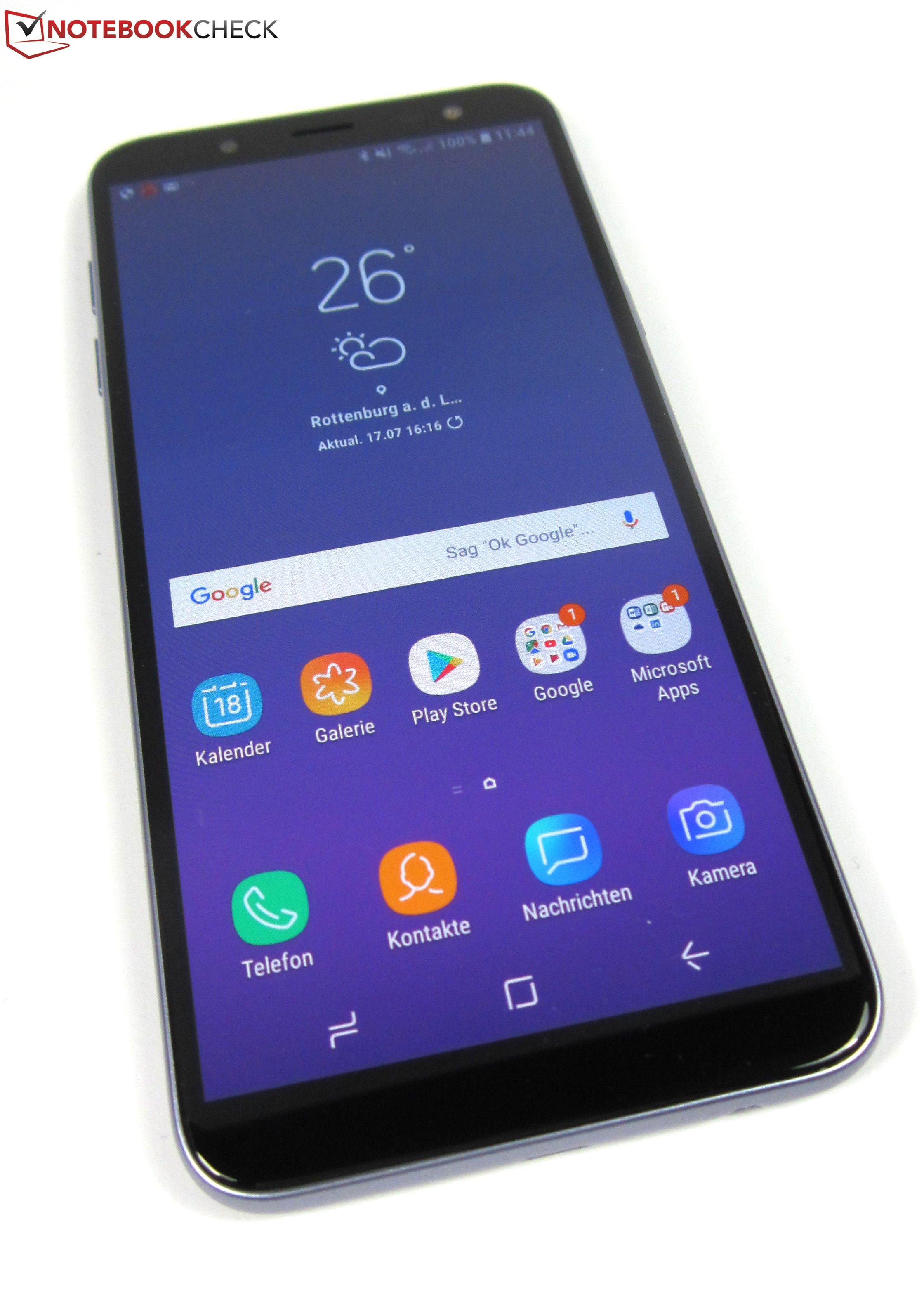 Samsung Galaxy J6 2018 Smartphone Review Reviews Garmin Drive 51 Gps Mobil Touchscreen Full Resolution