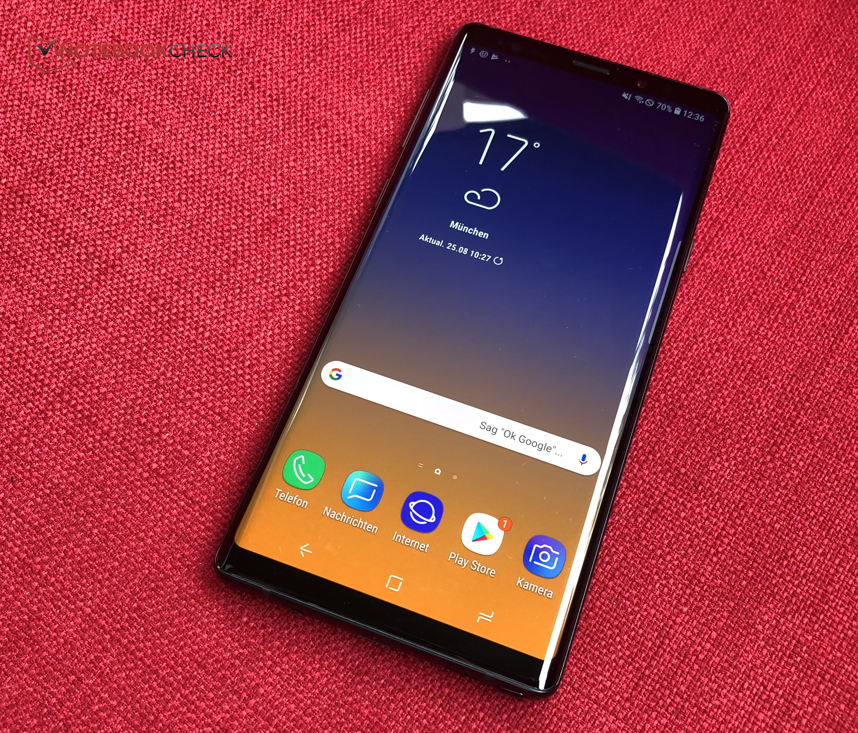 Samsung Galaxy Note 9 Smartphone Review - NotebookCheck net Reviews