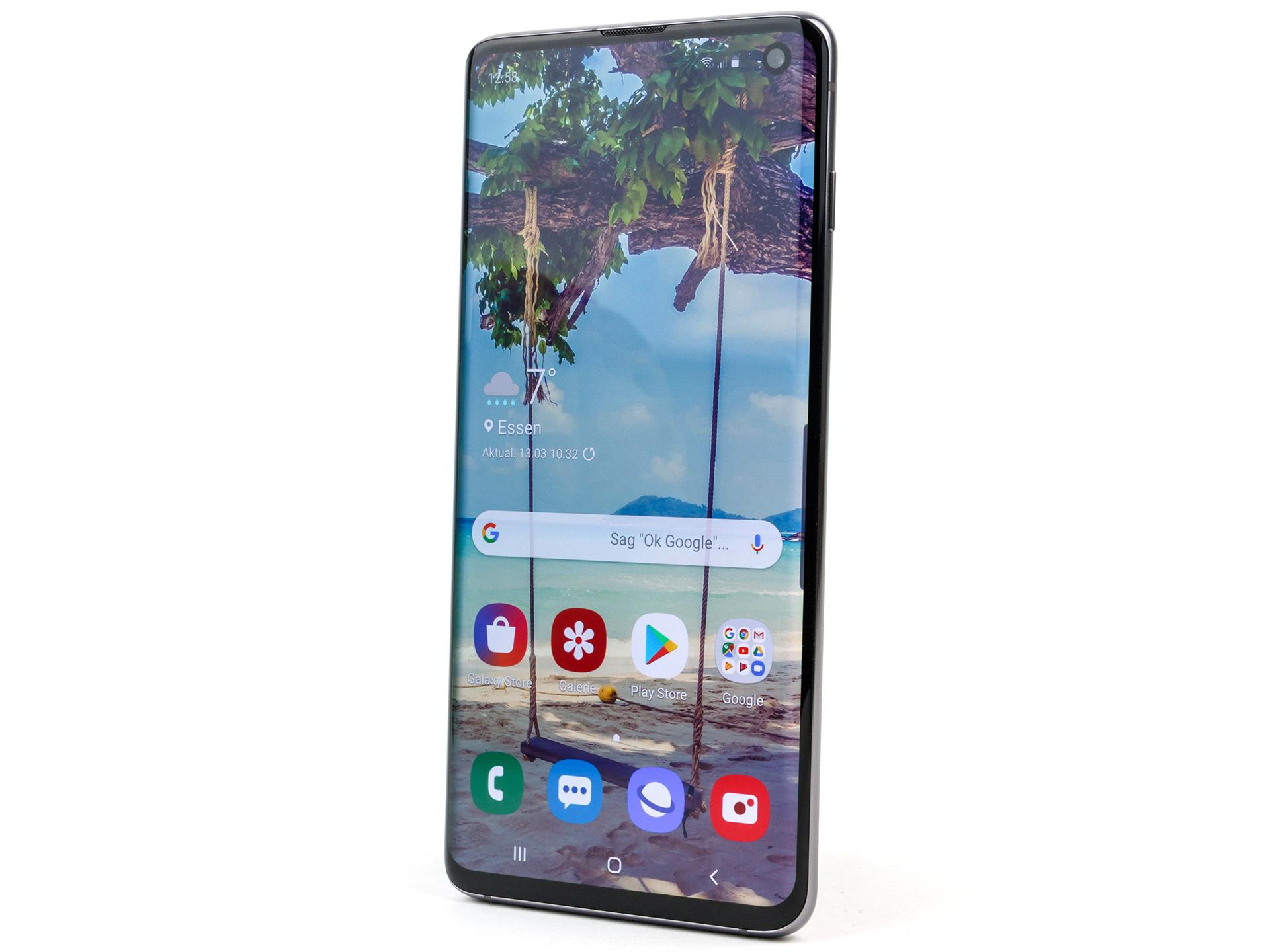 Samsung Galaxy S10 Smartphone Review - NotebookCheck net Reviews
