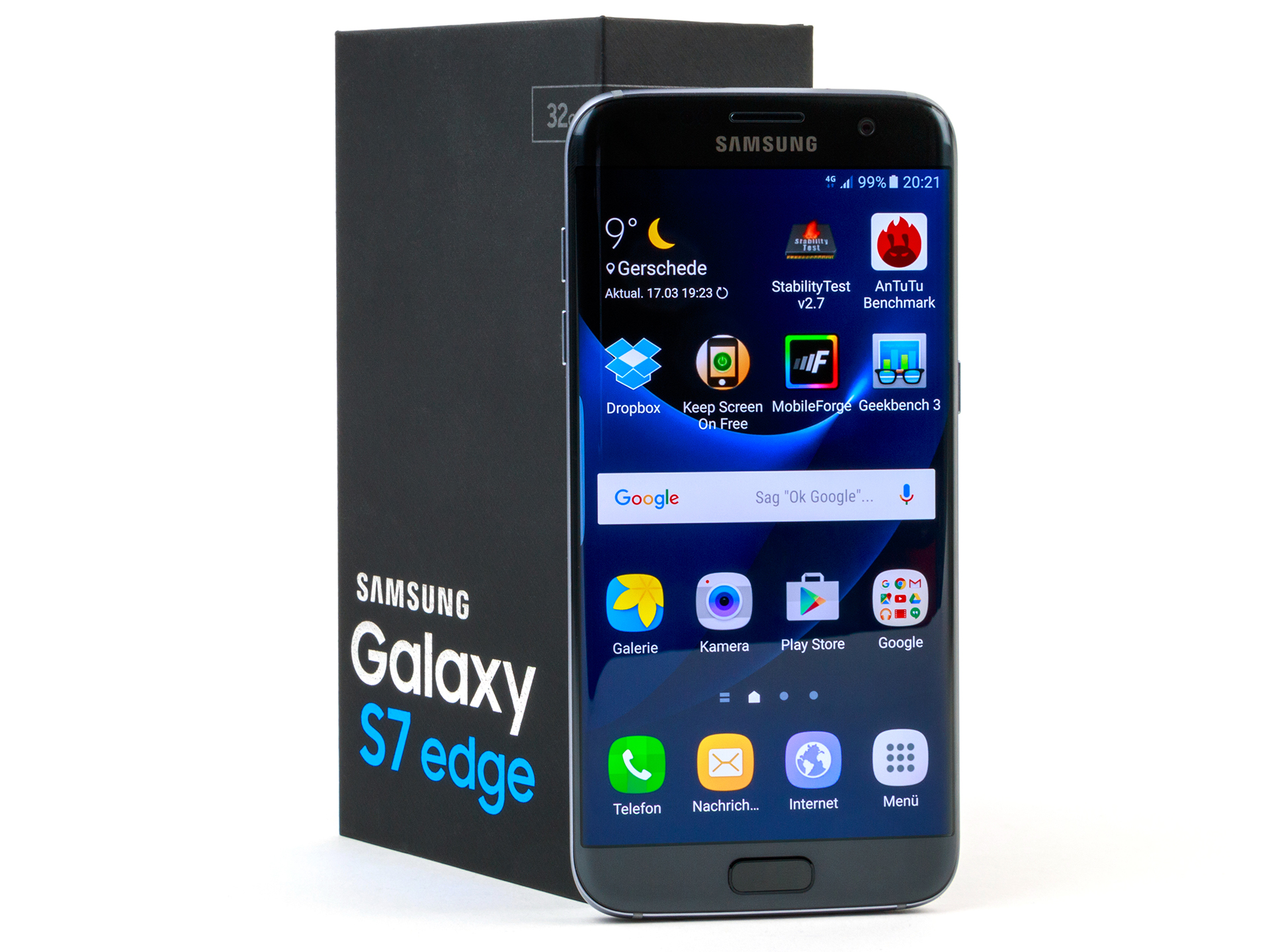 samsung galaxy s7 edge smartphone review reviews. Black Bedroom Furniture Sets. Home Design Ideas
