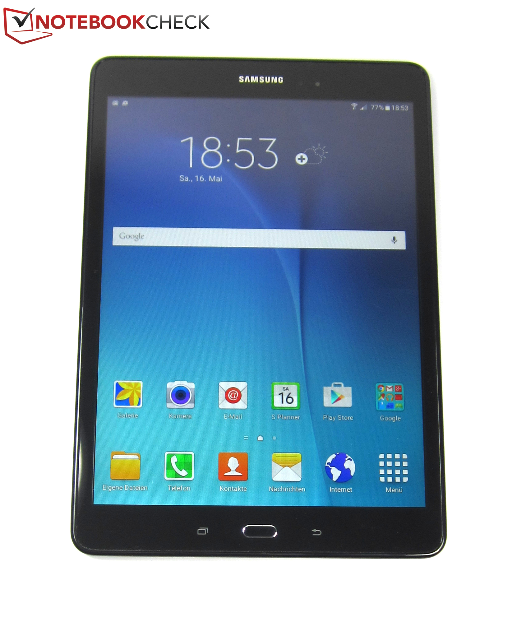 samsung galaxy tab a 9 7 sm t555 tablet review reviews. Black Bedroom Furniture Sets. Home Design Ideas
