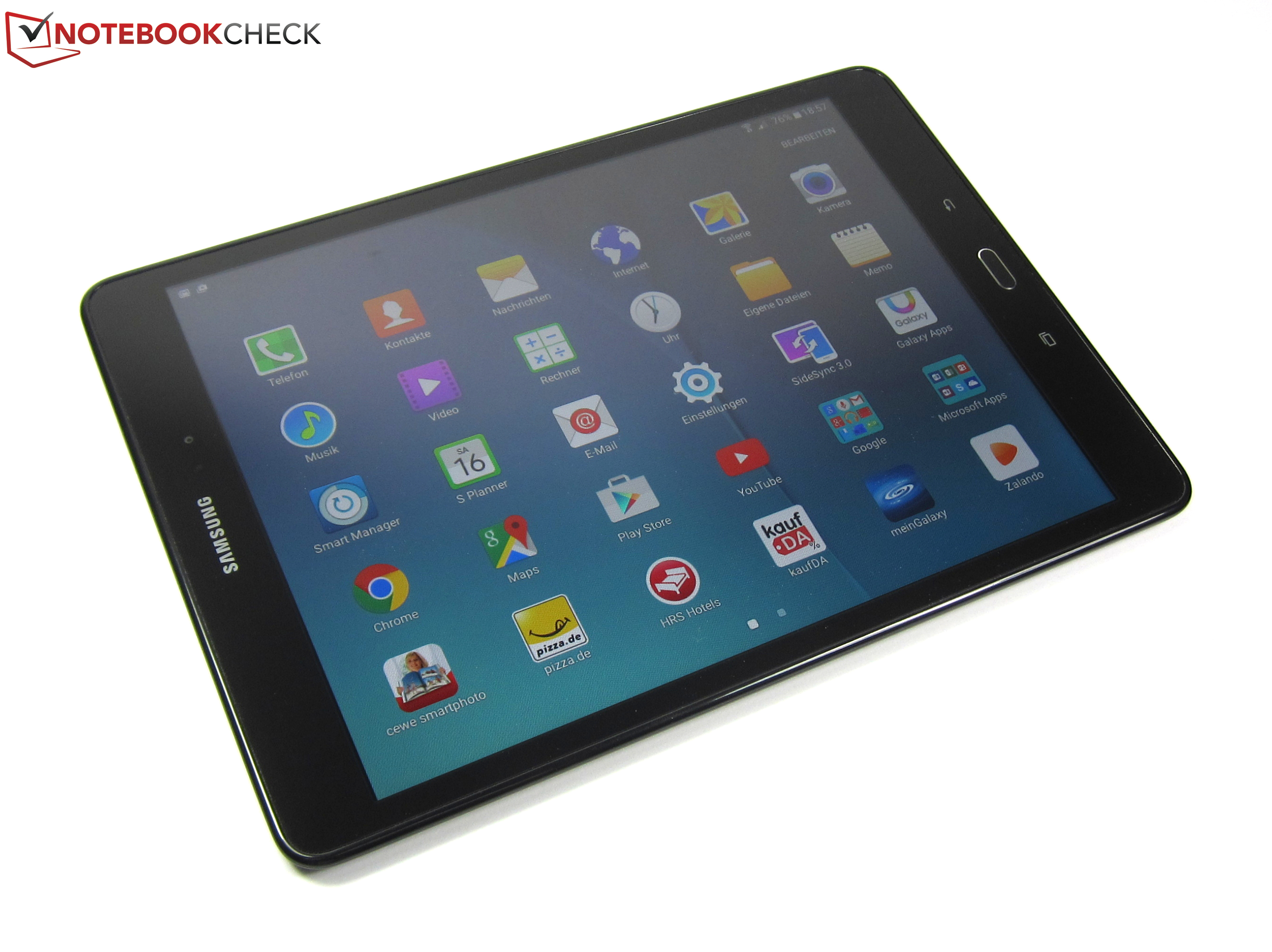 samsung galaxy tab a 9 7 sm t555 tablet review. Black Bedroom Furniture Sets. Home Design Ideas