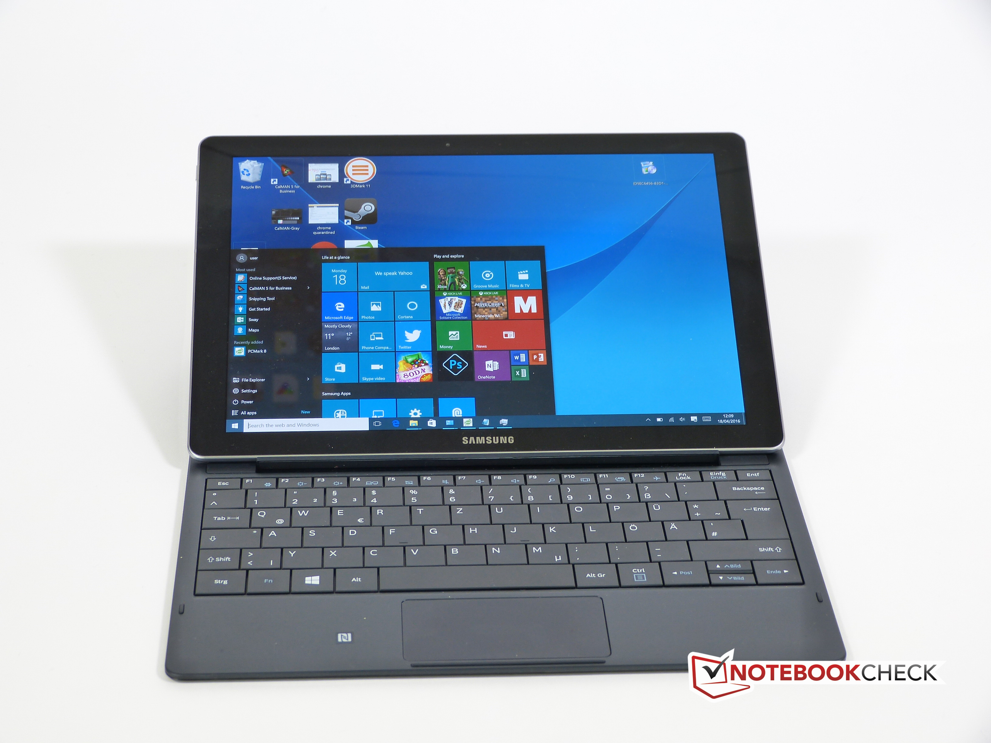 Samsung Galaxy Tab Pro S W700N Tablet 2-in-1 Review ...