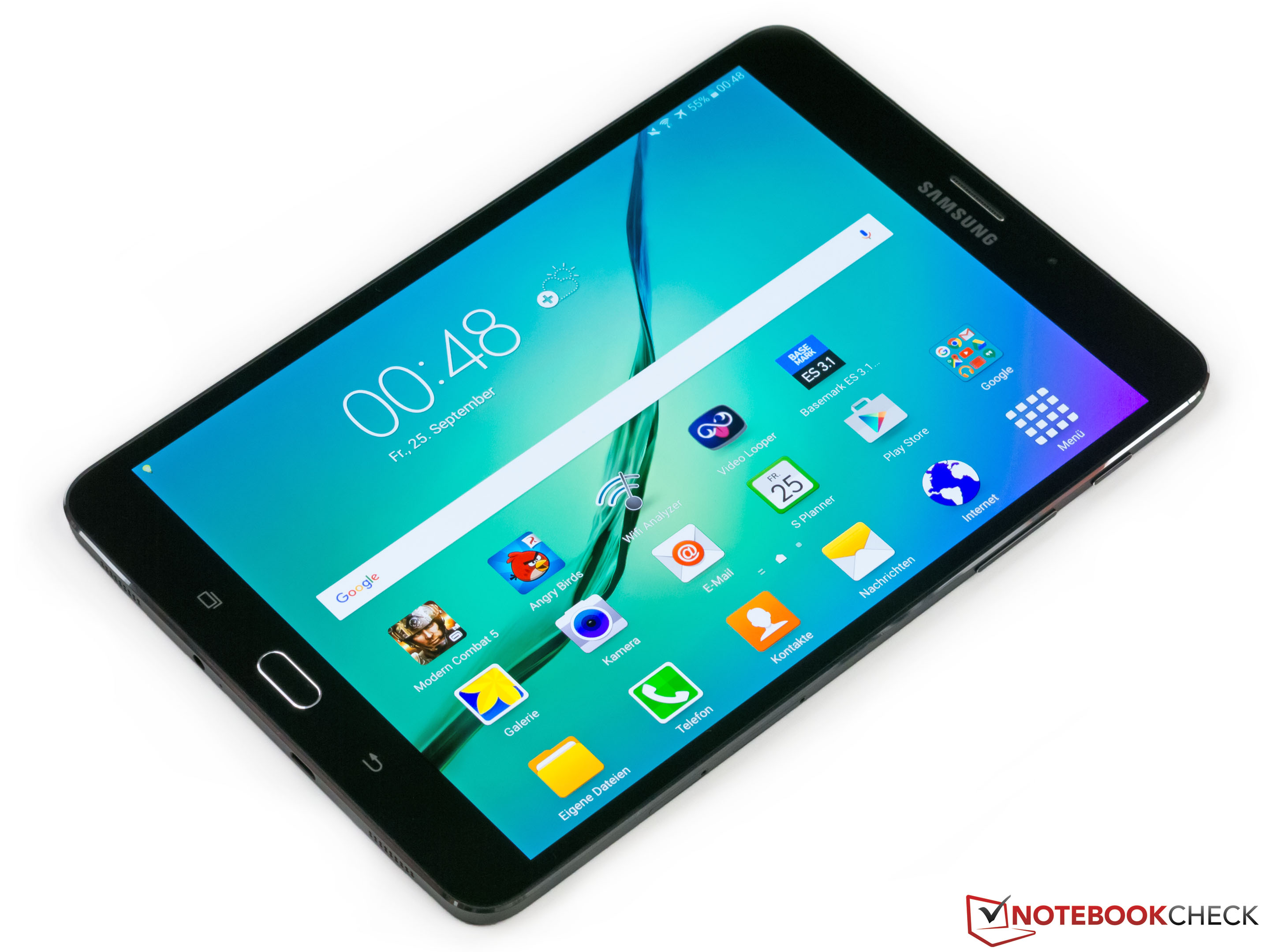 Samsung Galaxy Tab S2 8 0 LTE Tablet Review - NotebookCheck