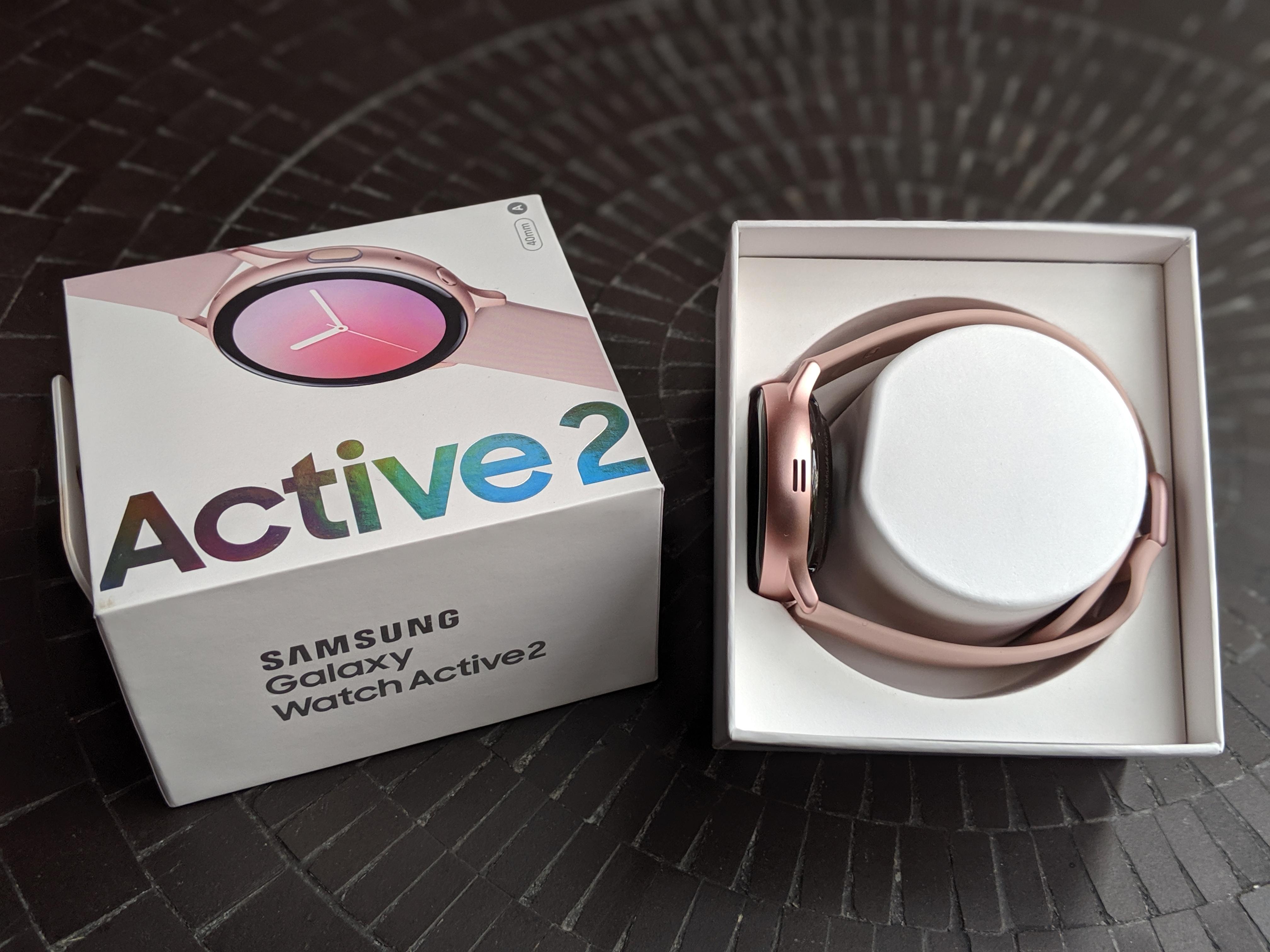 Samsung galaxy watch active 2 test