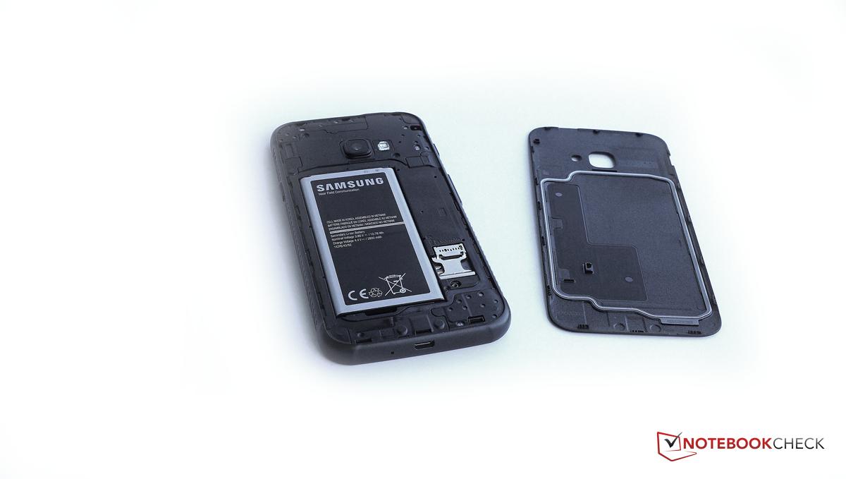brand new 457b2 e8c1d Samsung Galaxy XCover 4 (SM-G390F) Smartphone Review - NotebookCheck ...