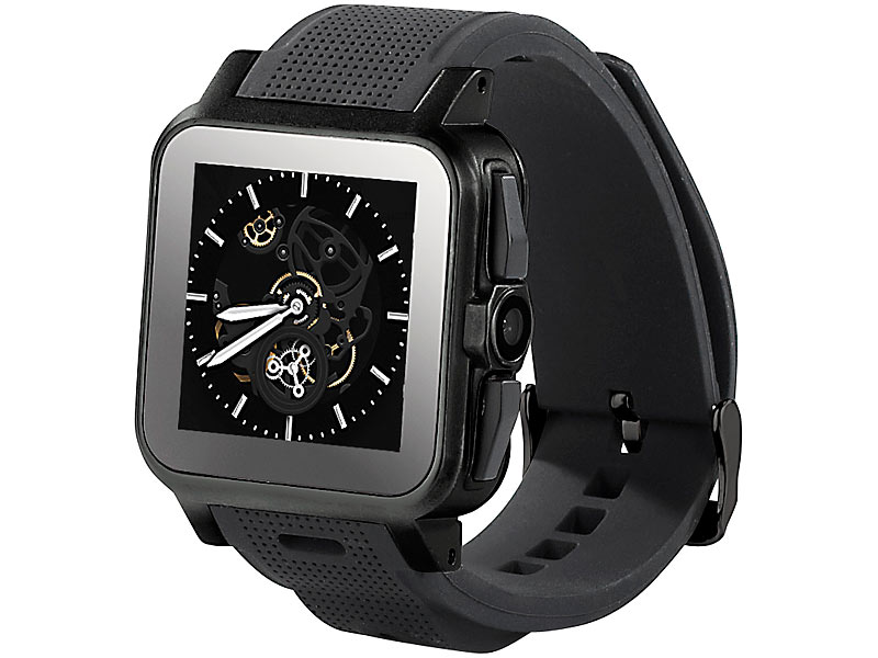 Short Review Simvalley Mobile AW-414 Go SmartWatch