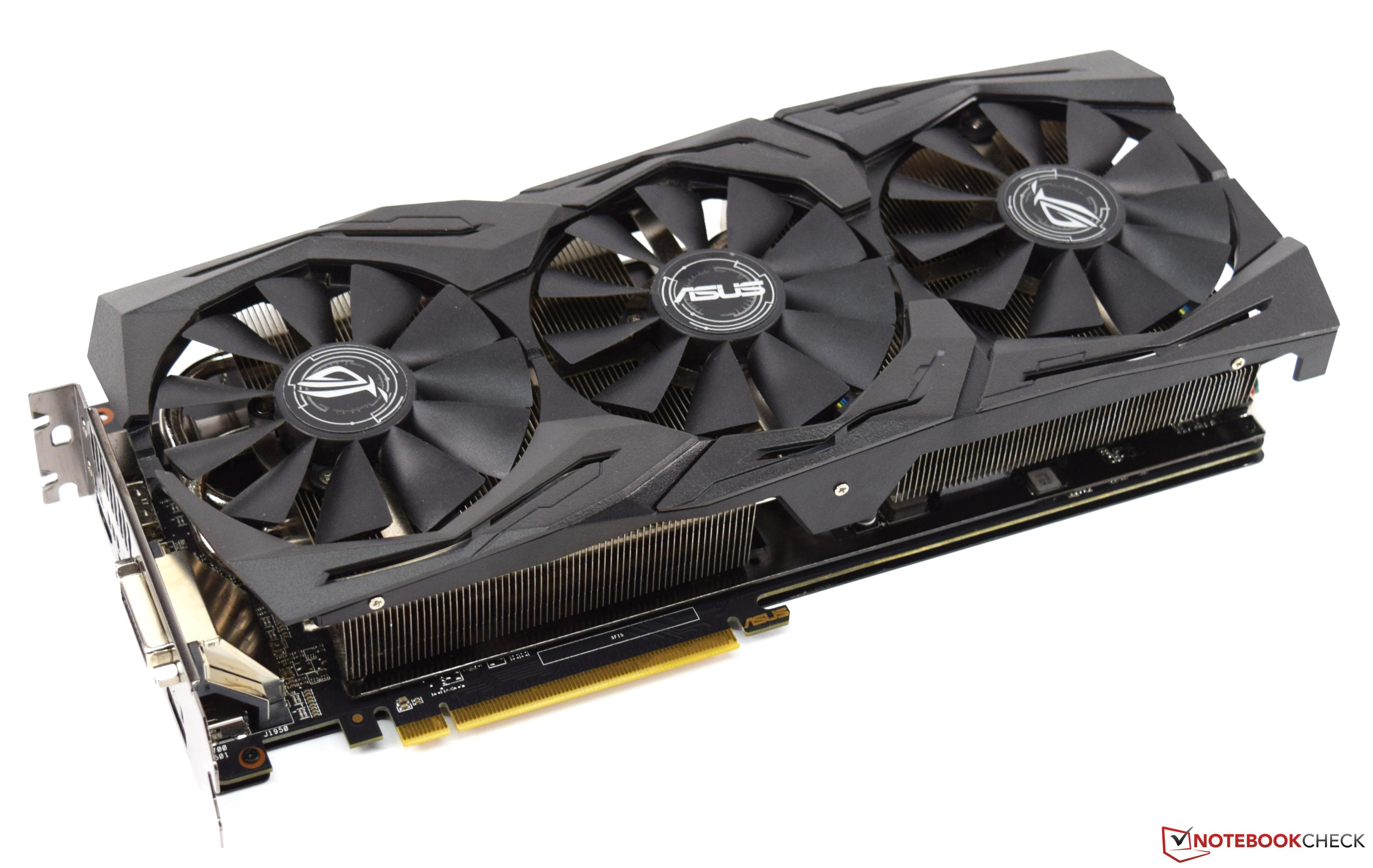 Asus ROG Strix Radeon RX 580 Desktop Graphics Card Review