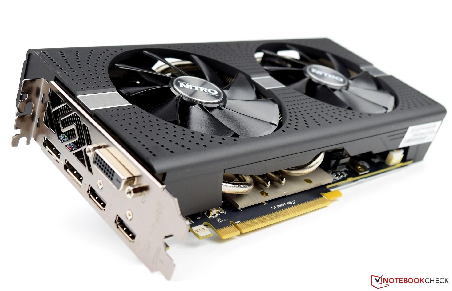 Sapphire Nitro Radeon Rx 580 Desktop Graphics Card Review Notebookcheck Net Reviews