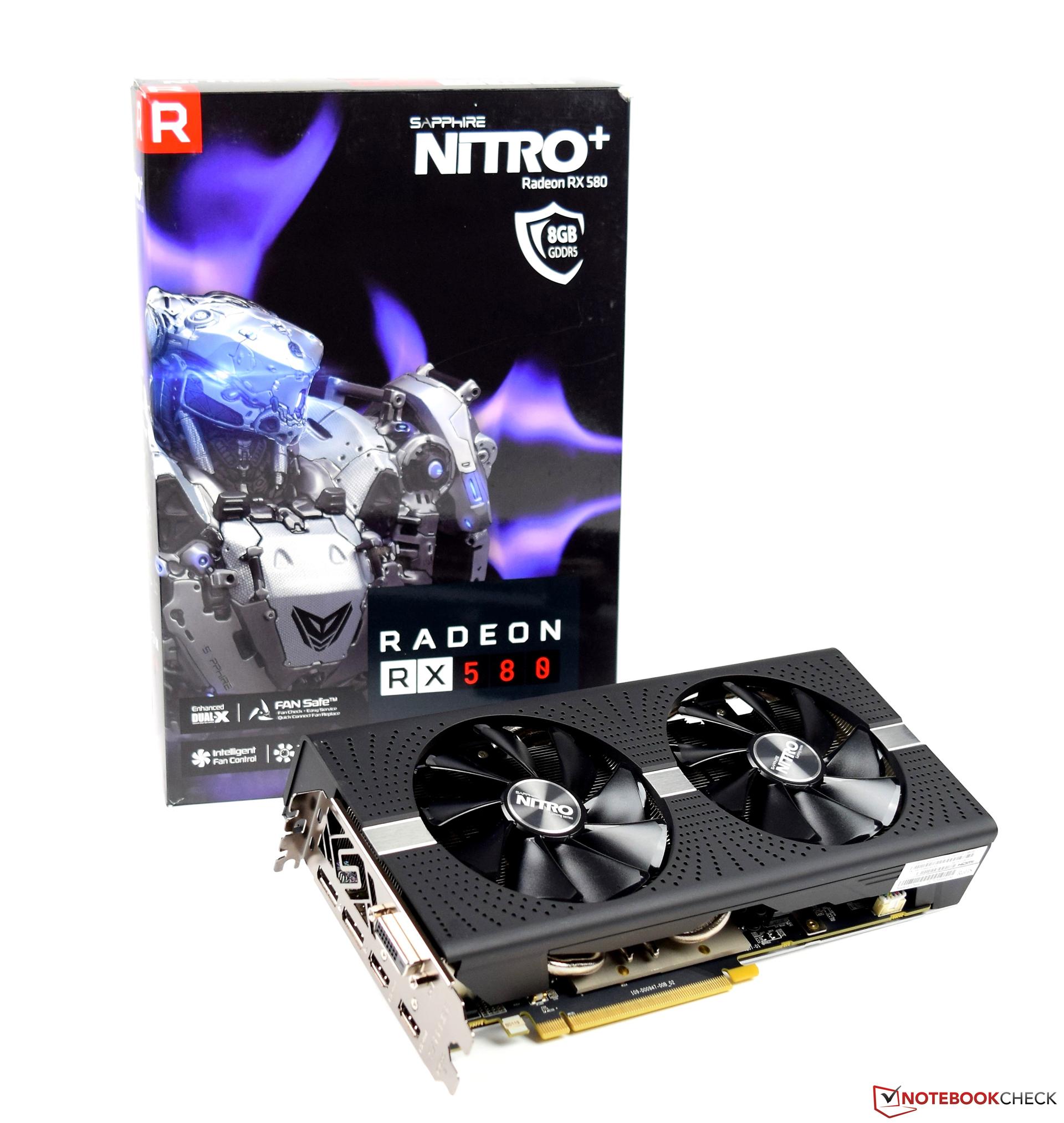 Sapphire Nitro+ Radeon RX 580 Desktop Graphics Card Review