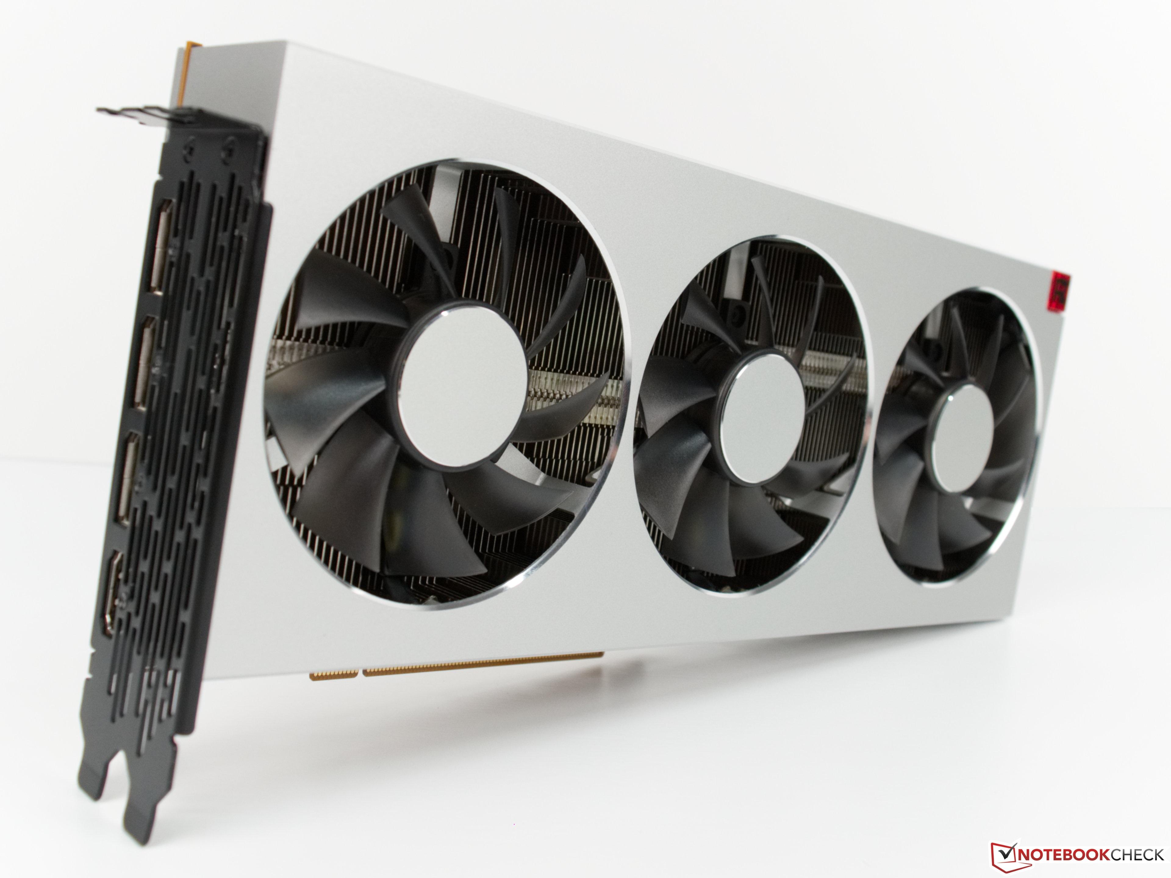 AMD Radeon VII Desktop GPU Review - NotebookCheck net Reviews