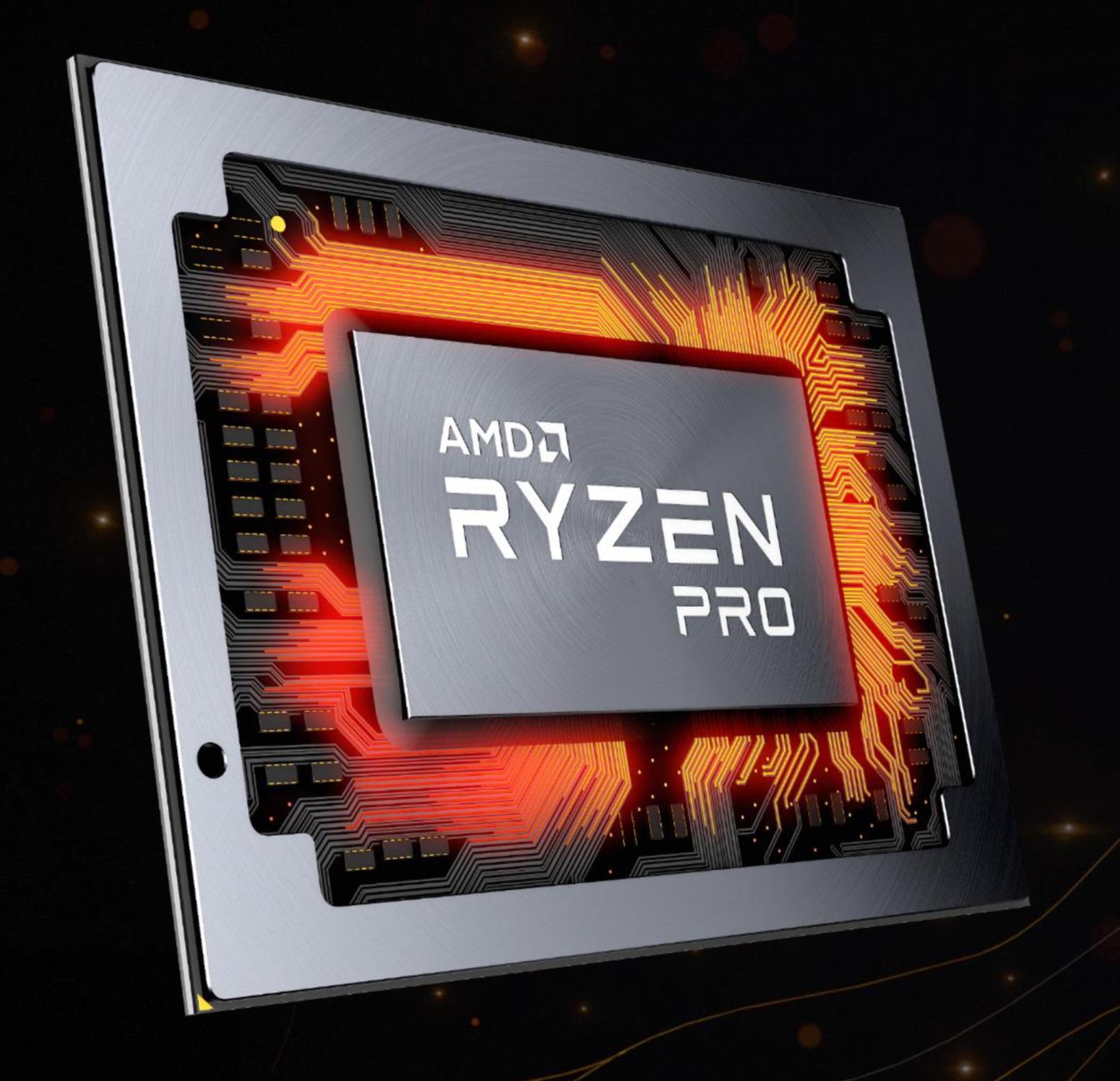 Ryzen Pro Mobile Brings Ryzen To Business Laptops