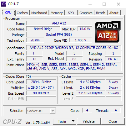 AMD A12-9720P SoC - Benchmarks and Specs - NotebookCheck net Tech