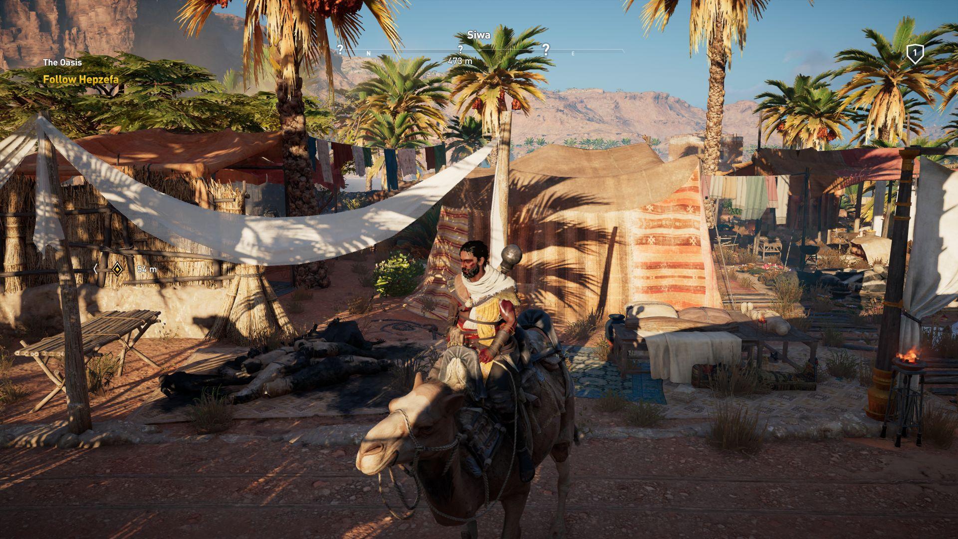 Assassin's Creed Origins Notebook and Desktop Benchmarks