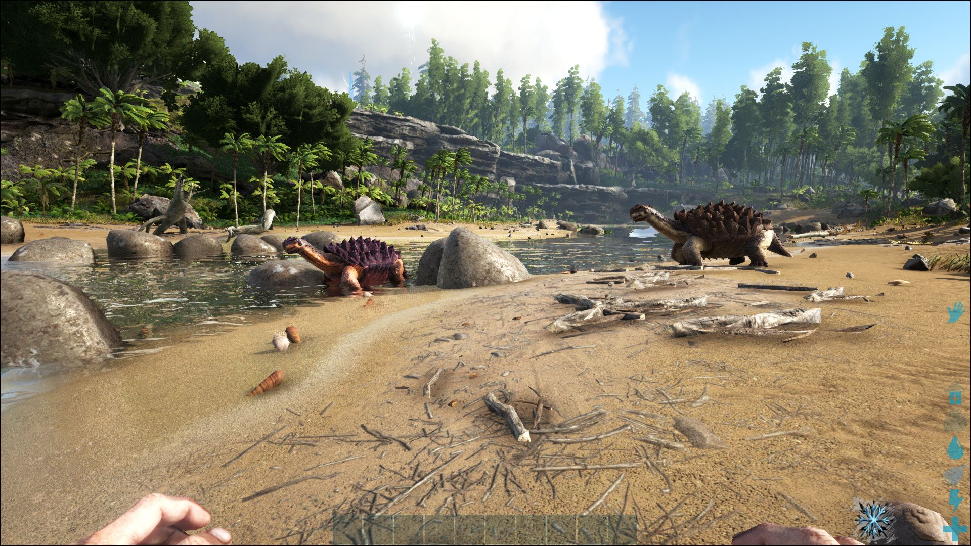 Ark Survival Evolved Notebook and Desktop Benchmarks