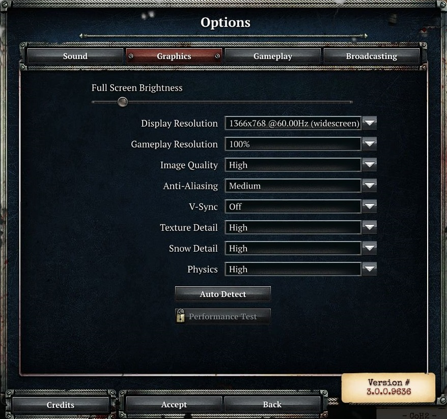 heroes and generals how to change graphics settings