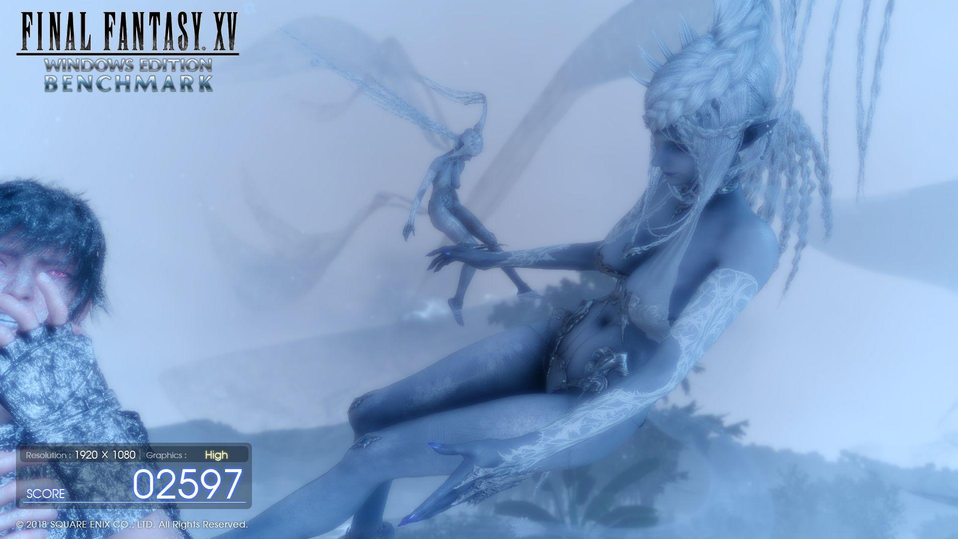 Final Fantasy XV Laptop and Desktop Benchmarks