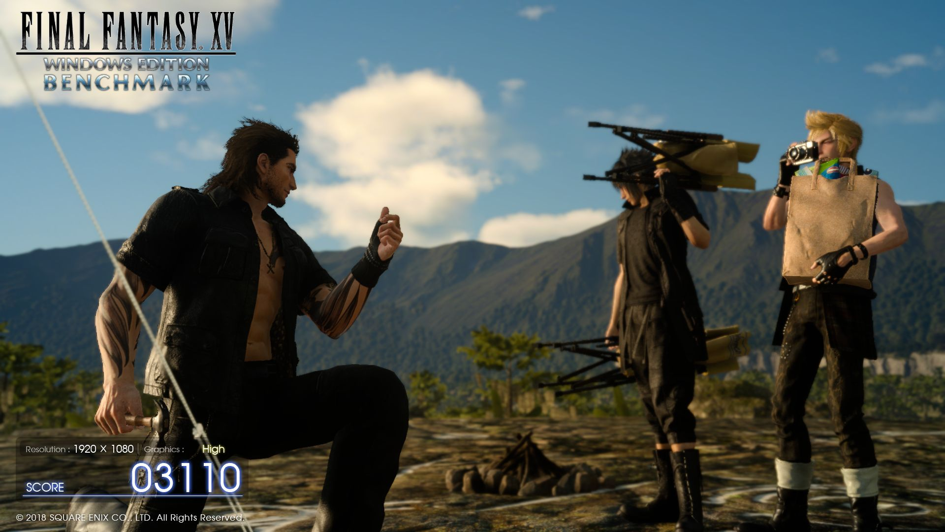 Final Fantasy XV Laptop and Desktop Benchmarks
