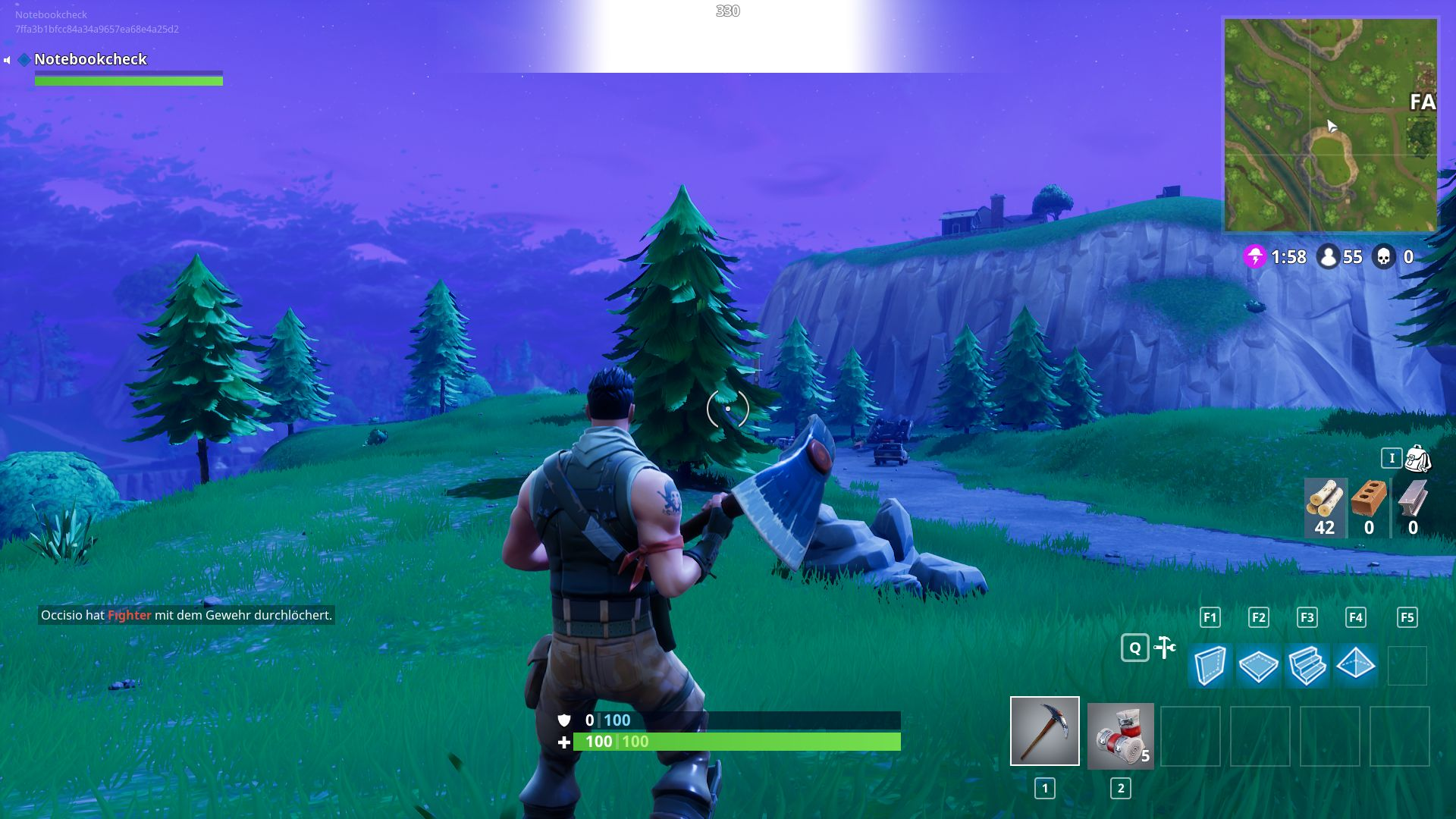 Fortnite Notebook And Desktop Benchmarks Notebookcheck