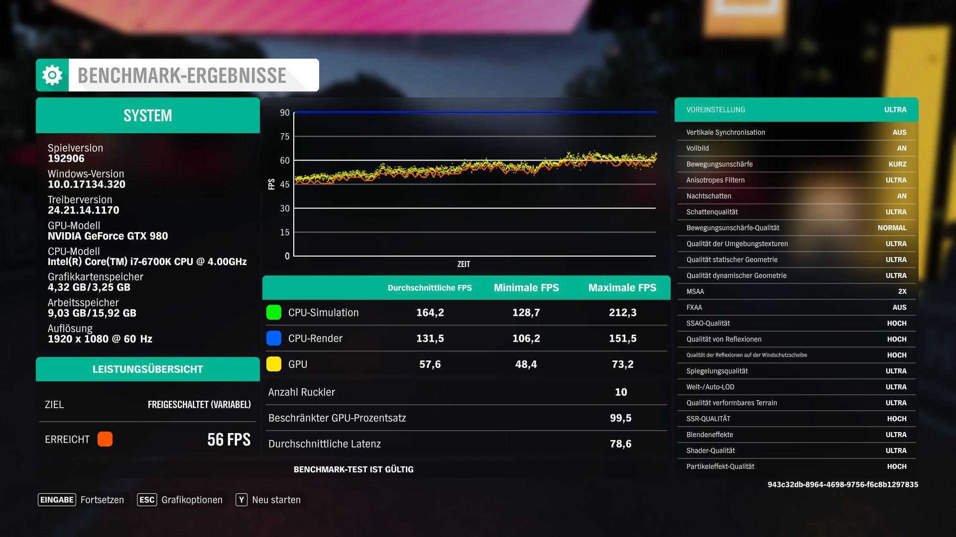 Forza Horizon 4 Notebook and Desktop Benchmarks - NotebookCheck net