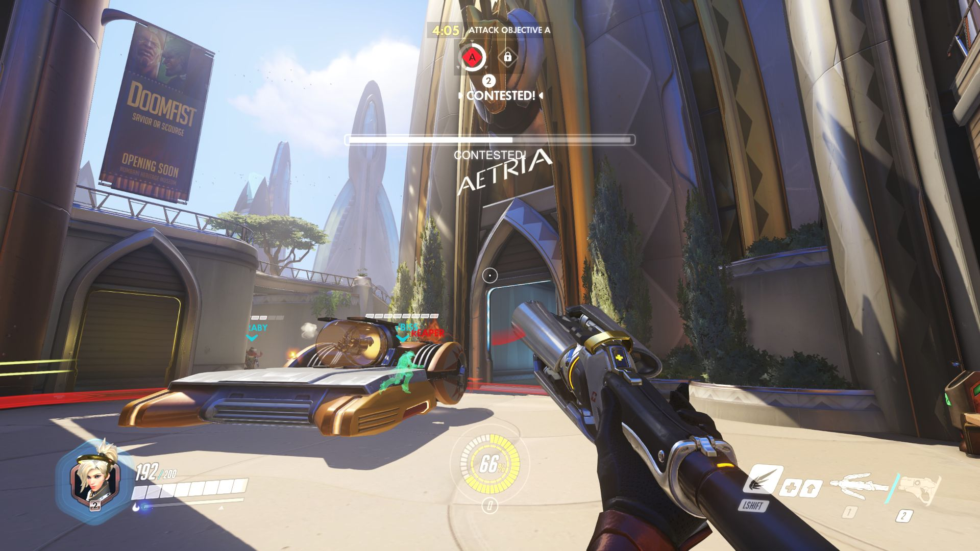 overwatch how to see your fps