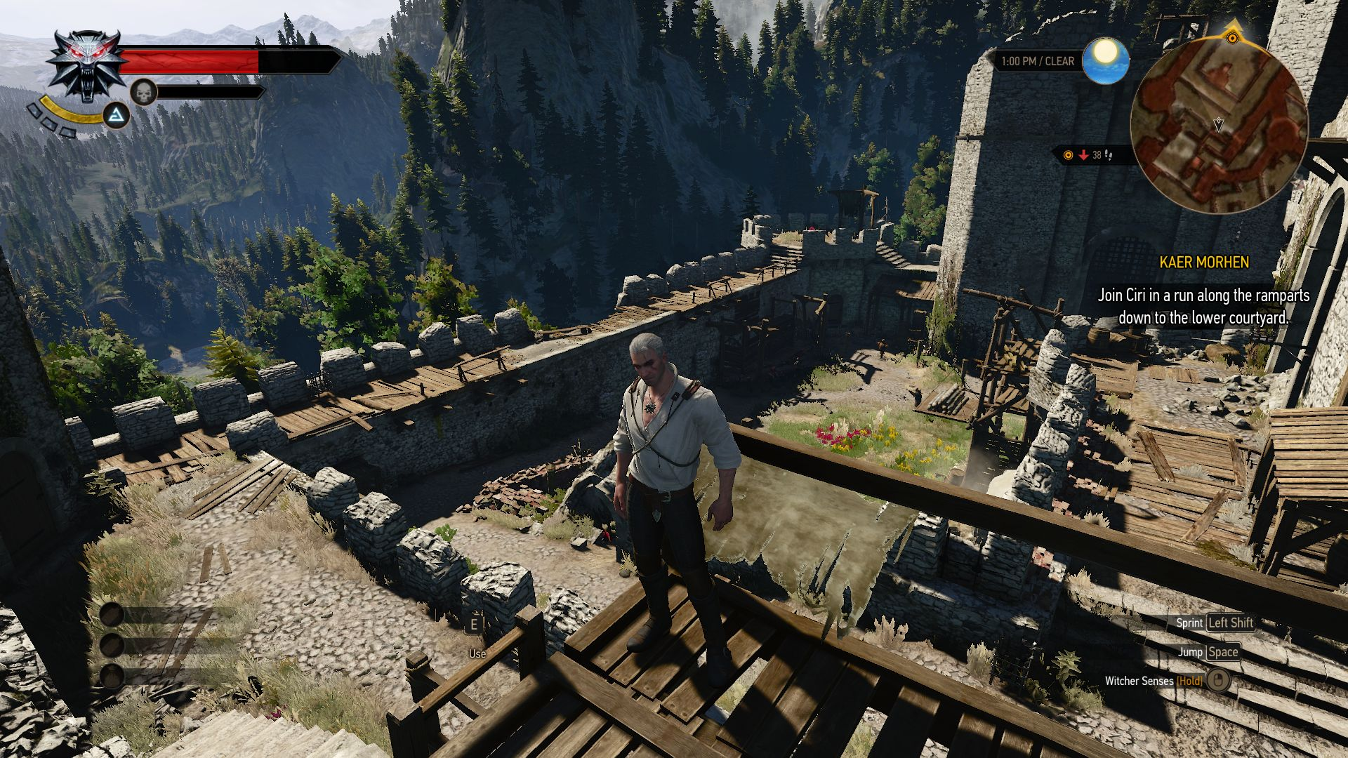 Notebook samsung games - The Witcher 3