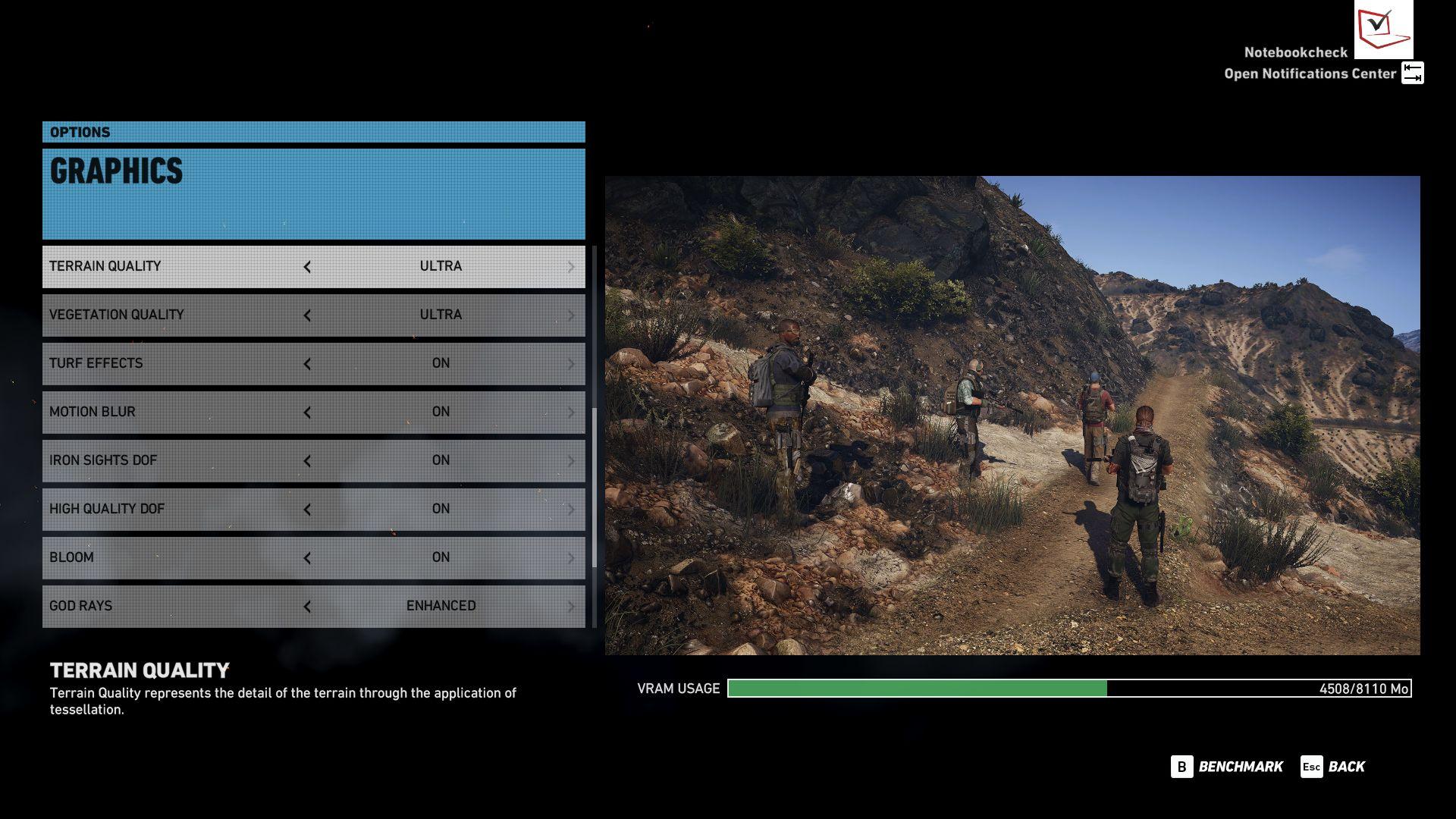 Ghost Recon Wildlands Notebook and Desktop Benchmarks