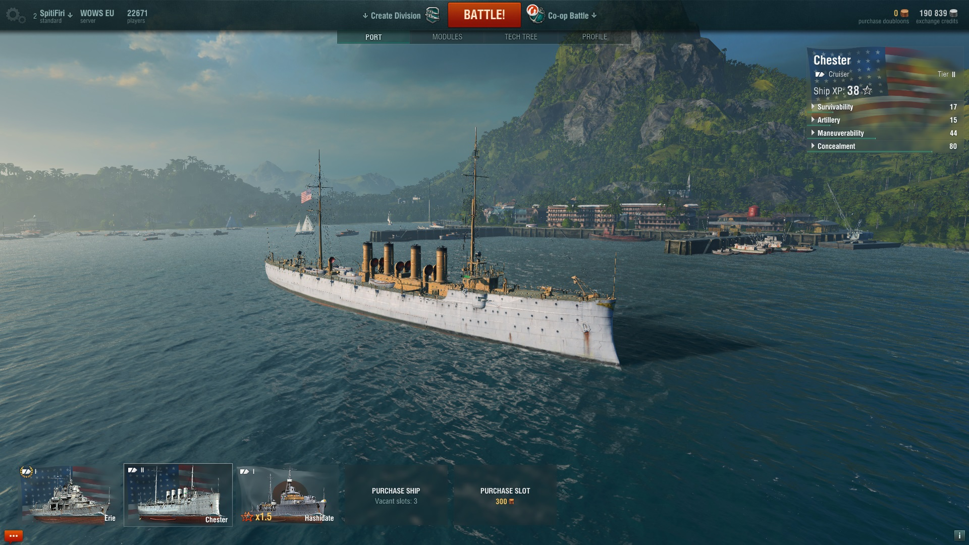 World of Warships Desktop and Notebook Benchmarks