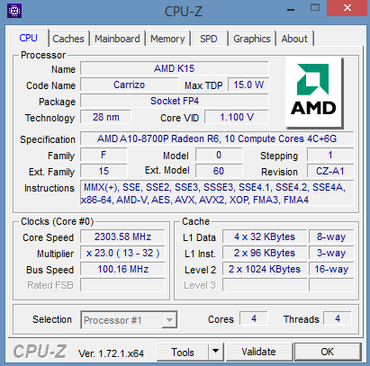 Carrizo in Review: How does AMD's A10-8700P Perform? - NotebookCheck