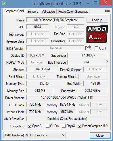 amd quad-core a10-9700p processor