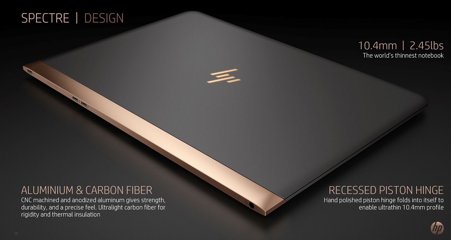 HP: Spectre 13 Flagship Notebook and new logo announced ...